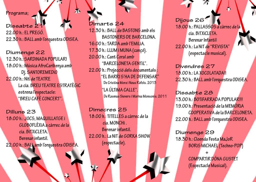 festa major 2013 2